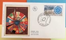 Conseil De L'Europe (1949-1974) - 67 Strasbourg - 4.5.1974 - FDC 1er Jour - Coté 1,80€ Y&T - FDC