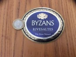 Etiquette Vin «RIVESALTES - BYZANS» - Languedoc-Roussillon