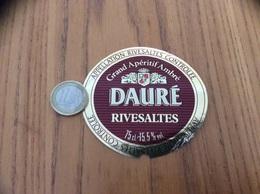 Etiquette Vin «RIVESALTES - DAURÉ - Apéritif Ambré» - Languedoc-Roussillon