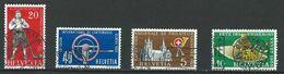 XX-/-484.- YVERT - N° 558/61, OBL.  Cote 5.50 € , TB - IMAGE DU VERSO SUR DEMANDE - Schweiz