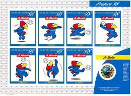 """PIA  -  FRANCE  -  1998  :  Campionati Del Mondo Di Calcio """"France 98"""" - Foglietto  -  (Yv  Bf 3140a) - Nuovi"""