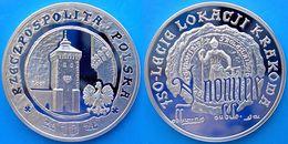 POLONIA 10 Z 2007 ARGENTO PROOF SILVER 750TH ANNIVERSARY GRANTING MUNICIPAL KRAKOW PESO 15,5g. TITOLO 0,925 CONSERVAZION - Poland