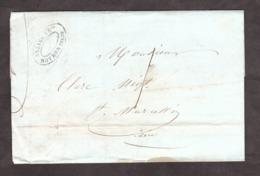 LSC - Avril 1840? - Roybon ? Pour St Marcellin (T13 Au Verso) - Port Dû 1 Décime - Marcophilie (Lettres)