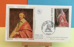 Richelieu - Philippe De Champaigne - Paris - 23.3.1974 - FDC 1er Jour - Coté 5€ Y&T - FDC