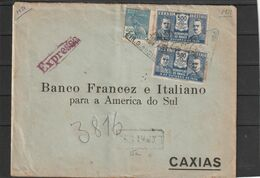 Brazil Porto Alegre TRIANGULAR PMK EXPRESS LOCALLY SENT 1931 - Brazil