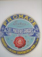 ETIQUETTE/FROMAGE/EXTRA/LAITERIE COOPERATIVE DE MER/LOIR ET CHER - Cheese