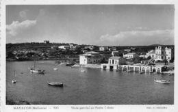 Spain Manacor Mallorca Vista Parcial De Porto Cristo Bateaux Boats - España