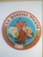 ETIQUETTE/CAMEMBERT/LE BOUQUET PICARD/PICARDIE/LAITERIE COOPERATIVE AGRICOLE/VERTON - Cheese