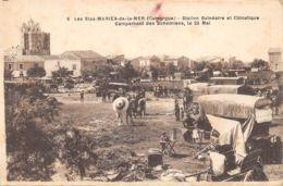 13-LES SAINTES MARIES DE LA MER-CAMPEMENT DE BOHEMIENS-N°2040-H/0241 - Frankreich