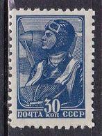 Russia, 1939/43 - 30k Aviator - Nr.736 MNH** - 1923-1991 USSR