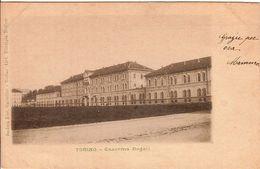 (C).Torino.Caserma Dogali.F.to Piccolo.Viaggiata (c17) - Andere Monumente & Gebäude