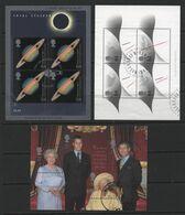 Great Britain(21) 1999-2000.  3 Miniature Sheets - Gebraucht
