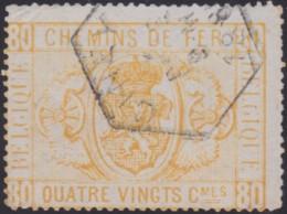 Belgie    .   OBP   .  TR  5    .     O   .    Gebruikt   .   /   .   Oblitéré - 1895-1913