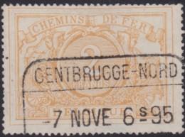 Belgie    .   OBP   .  TR 14    .     O   .    Gebruikt   .   /   .   Oblitéré - 1895-1913