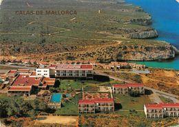 Spain Hotel Balmoral Calas De Mallorca Panorama Swimming Pool Postcard - España