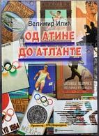 "Book PR000172 - Olympics ""Od Atine Do Atlante"" Velimir Ilic 1996 - Books, Magazines, Comics"