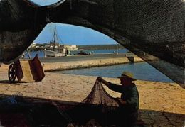 Spain Mallorca Porto Colom Typical Detail Fisherman Boat Postcard - España