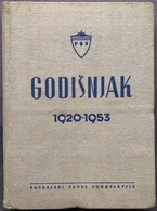 "Book PR000184 - Football Soccer Calcio Yugoslavia Federation ""Godisnjak 1920-1953"" - Books, Magazines, Comics"