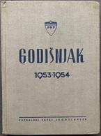 "Book PR000185 - Football Soccer Calcio Yugoslavia Federation ""Godisnjak 1953-1954"" - Books, Magazines, Comics"