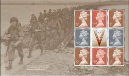 GROSSBRITANNIEN GRANDE BRETAGNE GB 2020 FROM PSB END OF THE SECOND WORLD WAR PANE MNH - Unused Stamps