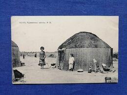 Merv Turkmen Types Hut - Turkmenistan