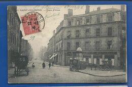 SAINT-CHAMOND   Cours D'Izieux    Animées   écrite En 1906 - Saint Chamond