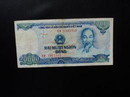 VIETNAM : 20 000 DONG    1991     P 110a      TTB - Vietnam