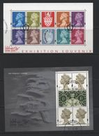 Great Britain(24) 2000.  2 Miniature Sheets - Gebraucht
