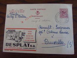PUBLIBEL N° 2029 Oblitéré Du RELAIS De CORROY-LE-CHATEAU En 1965 - Publibels