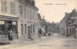 76-FOUCARMONT-ROUTE DE LA GARE-N°2047-G/0191 - France