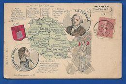 Carte De La Région     écrite En 1906 - Ohne Zuordnung