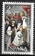 ESPAGNE  N° 1813  * *  Ordre De Saint Jerome Pape Gregoire XI - Cristianismo