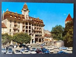 Lausanne- Ouchy Hotel Du Parc/ Oldtimer Autos - VD Vaud