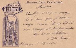 Chocolat Suchard - Grand Prix 1900 - Funiculaire - 1901    (00807) - Publicidad