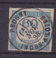 FRANCE : N° 9 T . OBLI CENTRALE . TTB . 1885 . - Taxes