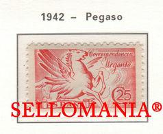 1946 URGENTE URGENT PEGASO PEGASUS WINGED HORSE CHEVAL  952 MNH ** TC23491 FR - 1931-50 Ongebruikt