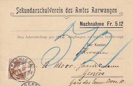 Aarwanden - Sekundarschulverein Des Amtes - NN - 1912    (00807) - BE Berne