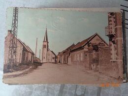 COULLEMELLE :rue De L'église - Frankrijk