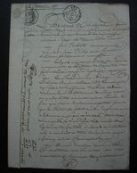 Tonneins 1817 (Lot Et Garonne) Vente Par Jean Philip, Charretier à Pierre Duleau, Boucher - Manuscritos
