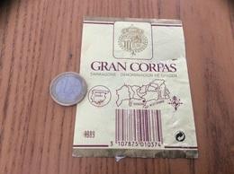 Etiquette Vin Espagne «GRAN CORPAS - TARRAGONE» - Labels