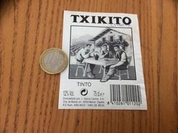 Etiquette Vin Espagne «TXIKITO - TINTO - Murcia» - Labels