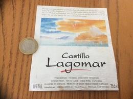 Etiquette Vin Espagne «Castillo Lagomar - J. GARCIA CARRION - Murcia» - Labels