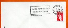 26 ROMANS SUR ISERE   PREVENTION SANTE 1978  Lettre Entière N° ST 462 - Marcophilie (Lettres)