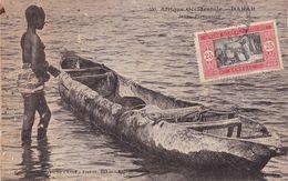 Aof Sénégal Jeune Piroguier  1931 - Ivory Coast