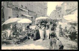 FRANCE - NICE - Le Marché Aux Fleurs. ( Ed.LL. Nº 272) Carte Postale - Mercati