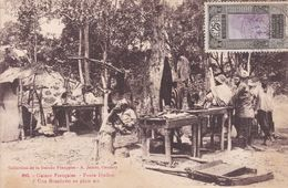 Aof Guinée Fouta-Djallon  Boucherie En Plein Air   1931 - Ivory Coast