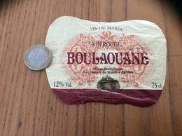 Etiquette « Vin Du Maroc - BOULAOUANE - Les CELLIERS De BOULAOUANE» 75cl - Other