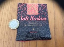 Etiquette Vin Algérie «SIDI Brahim - ROUGE - LE SOLEIL DES TERRES DU SUD - Maison Vigna» - Other