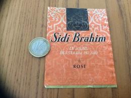 Etiquette Vin Algérie «SIDI Brahim - ROSÉ - LE SOLEIL DES TERRES DU SUD - Maison Vigna» - Other