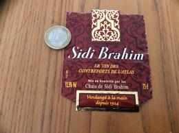 Etiquette Vin Algérie «SIDI Brahim - LE VIN DES CONTREFORTS DE L'ATLAS» - Other